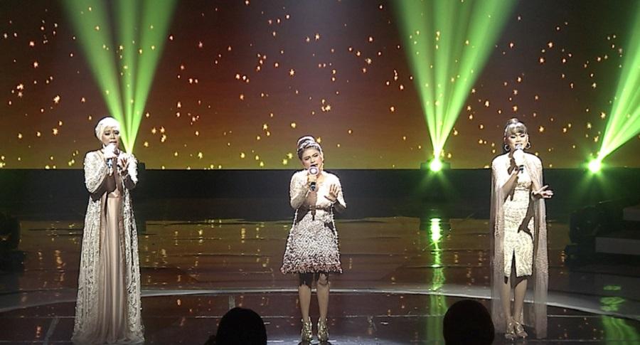 Aksi Trio Dari Kiki (Kepulauan Riau), Alif (Kalimantan Timur), dan Puput (Sulawesi Selatan) Menjadi Klimaks dari Panggung Top 9 Show Group 1