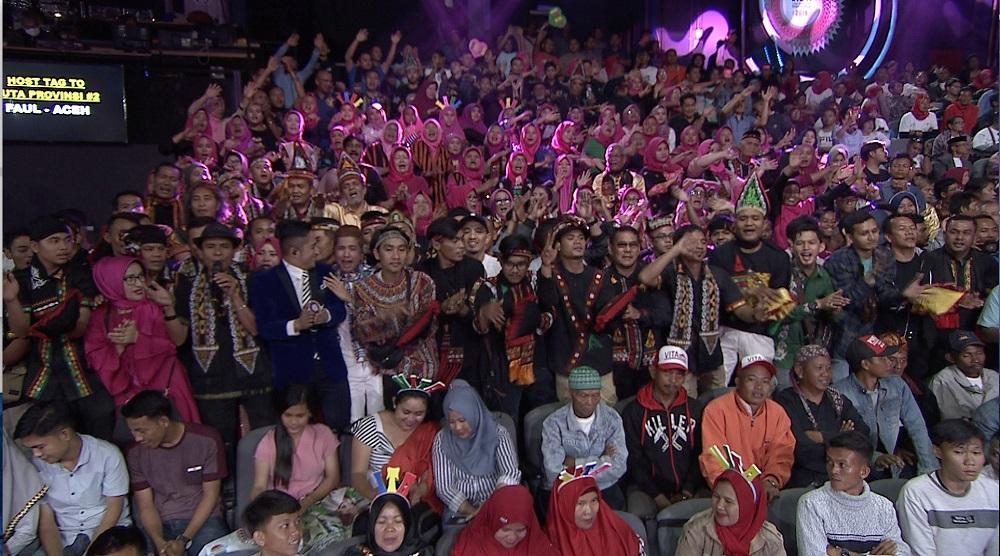 Kemeriahan Pendukung Faul (Aceh) Meramaikan Studio 5