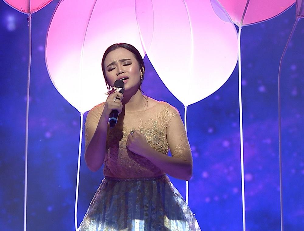 Penampilan Penuh Penghayatan Aulia Dalam lagu 'Derita Dibalik Tawa' Berbuah Tiga Standing Ovation