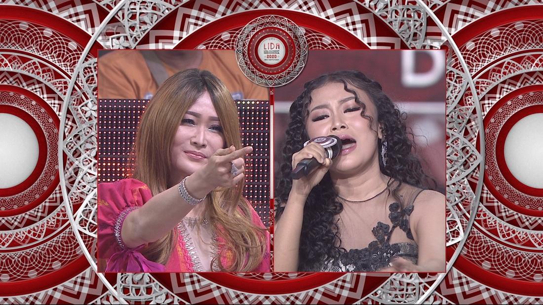 Inul Memuji Kemampuan Jelsy (DKI Jakarta) Saat Menyanyikan Madu Tuba