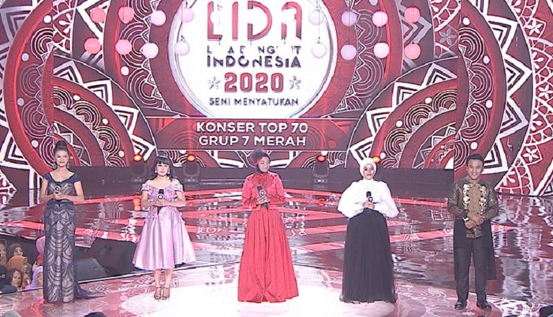 Lima Duta Provinsi dari Top 70 Grup 7 Tim Merah yang Berebut Posisi di Babak Top 56 LIDA 2020