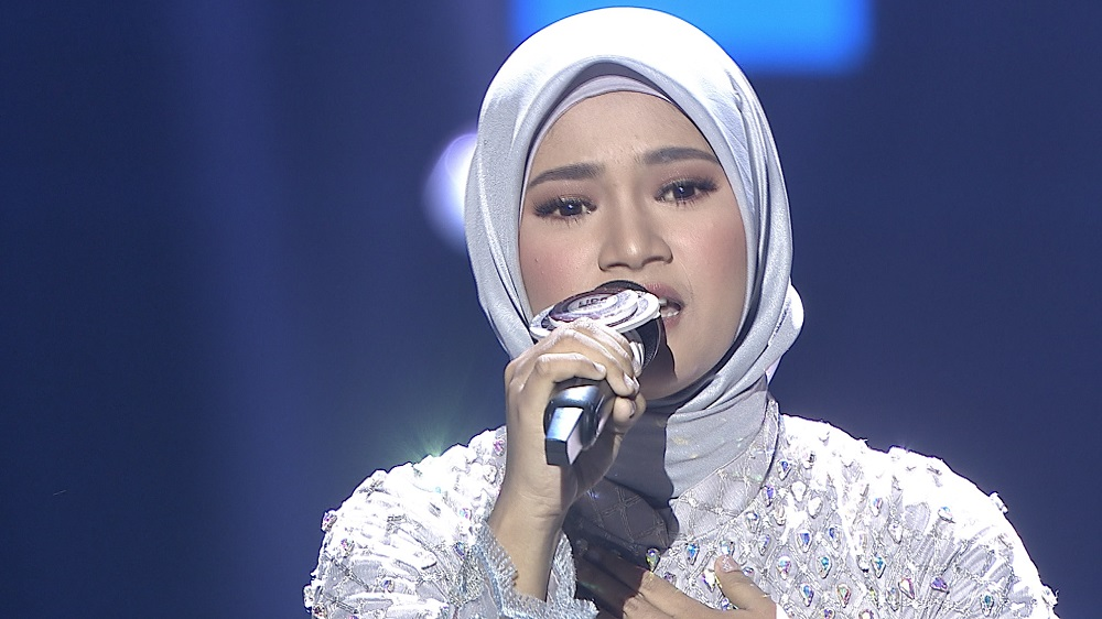 Membawakan Lagu 'Sebening Embun', Zahra (Riau) Sukses Mendapatkan Pujian Dari Dewan Juri