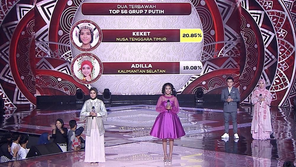 Polling LIDA 2020 sebesar menyelamatkan posisi Keket (Nusa Tenggara Timur) di babak Top 44