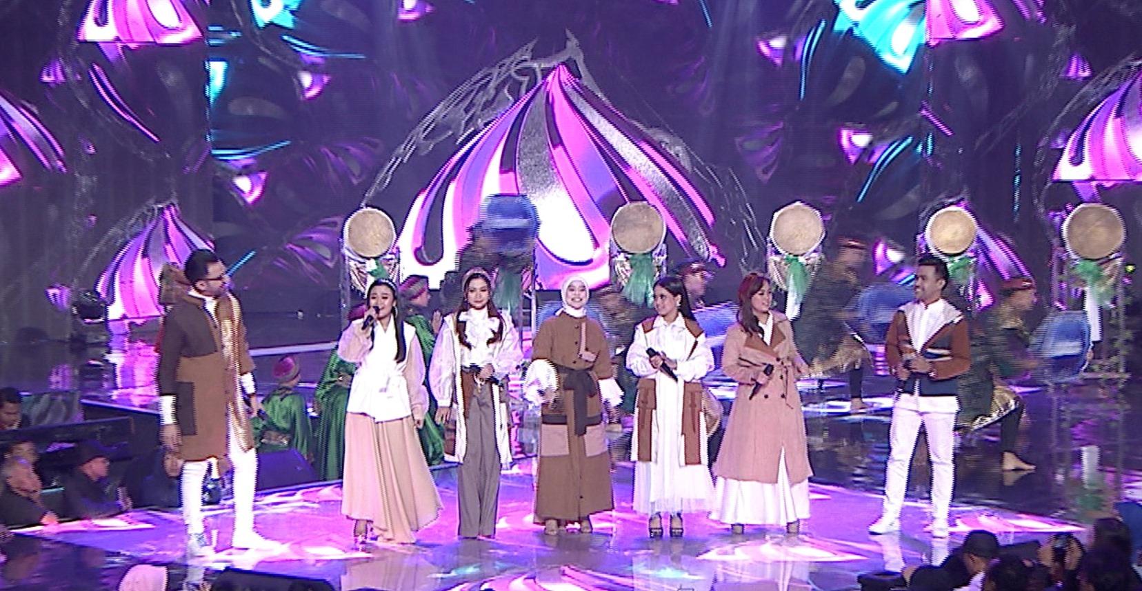 "Reza DA, Aulia DA, Rara LIDA, Lesti DA, Putri DA, Selfi LIDA & Fildan DA Bawakan Theme Song ""Ramadan Berkah"" Indosiar"