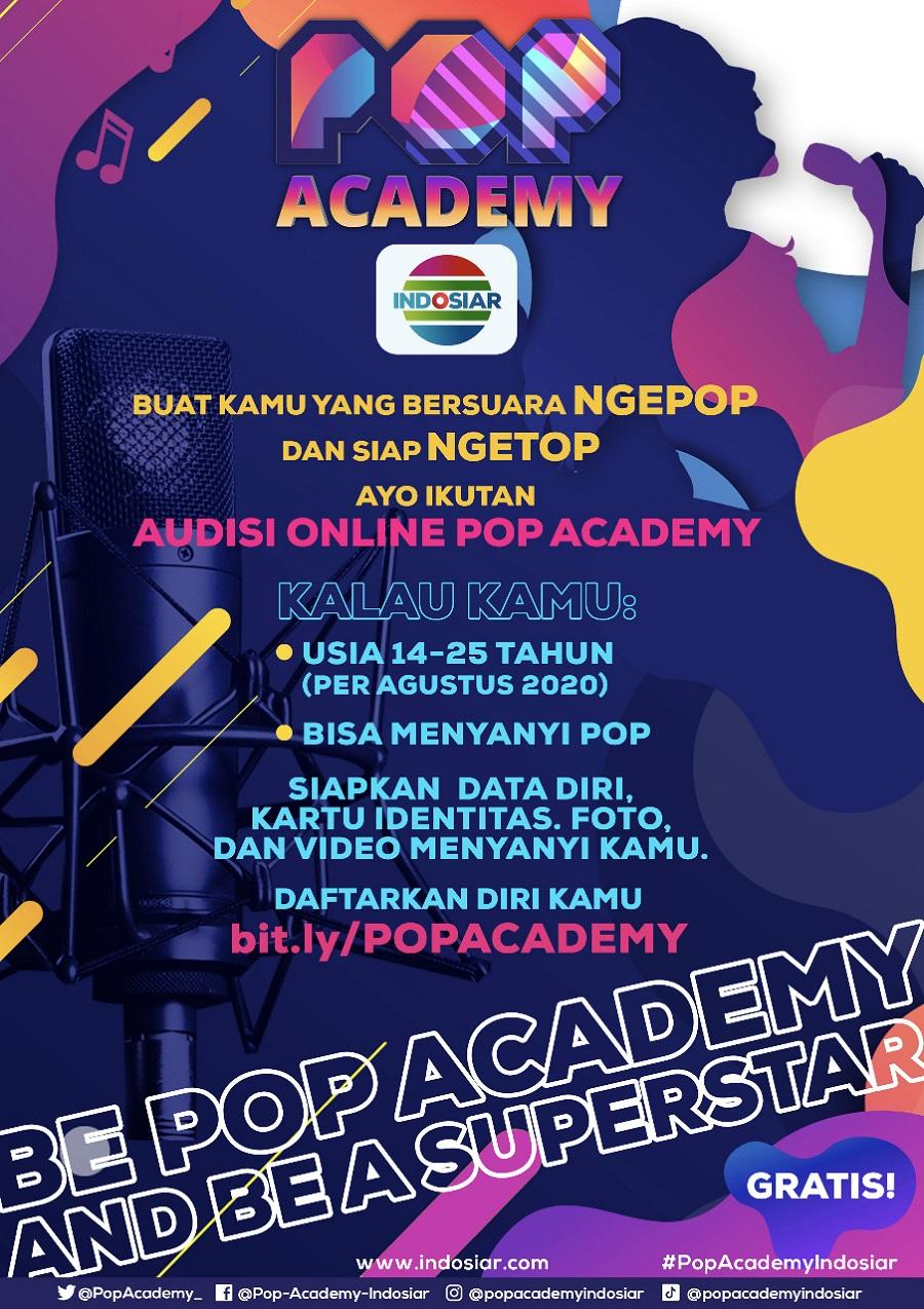 Audisi Online Pop Academy