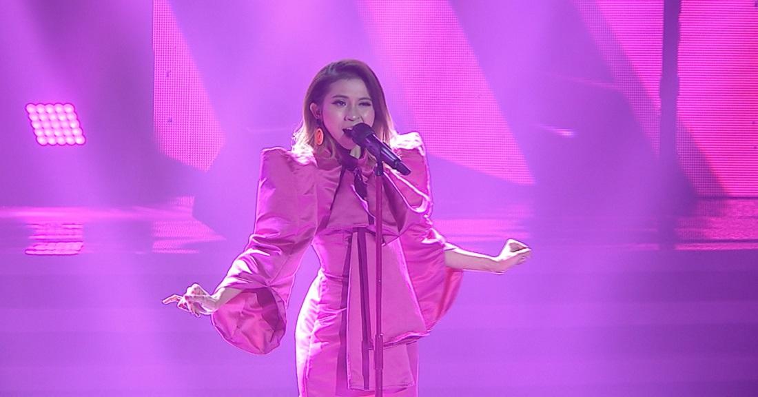 Inara (Jakarta) Membuka Kompetisi Pop Academy Top 40 Grup 1 dengan Lagu 'Di Dadaku Ada Kamu'