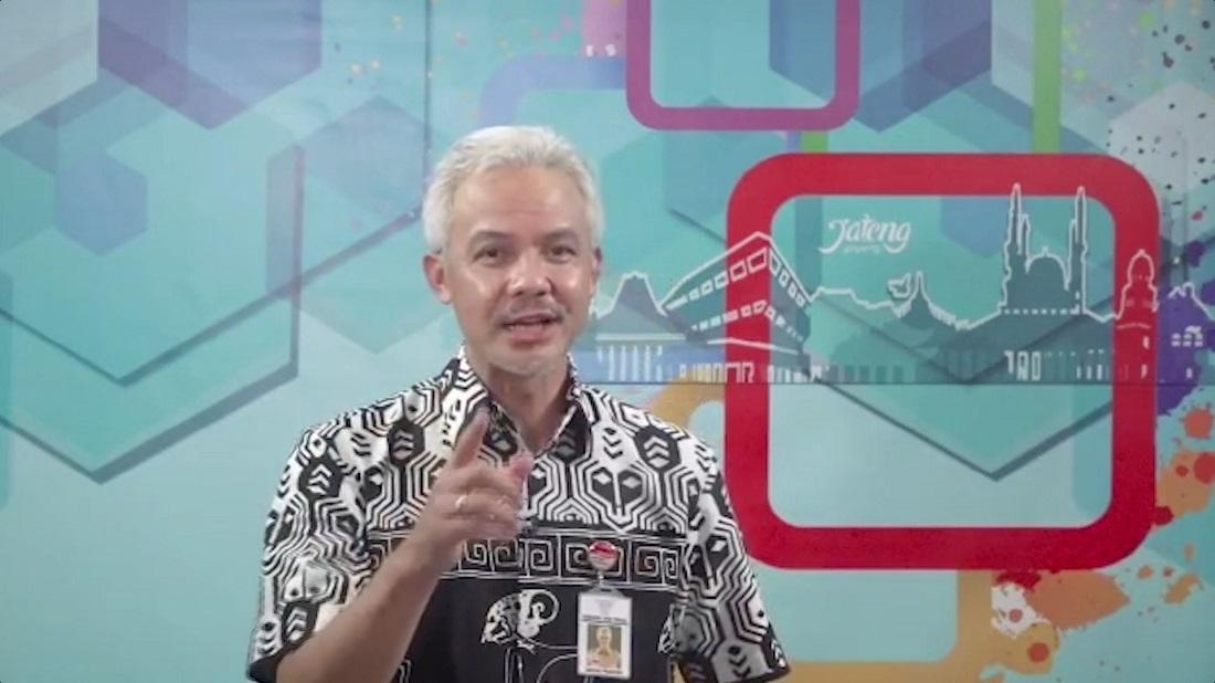 Gubernur Jawa Tengah Ganjar Pranowo Berikan Dukungan untuk Tasya (Semarang)