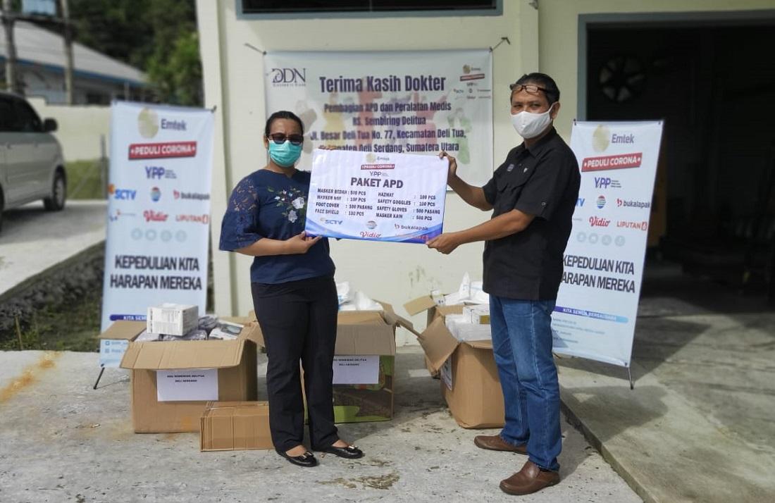 Yayasan Pundi Amal Peduli Kasih (YPP) RSU Sembiring Delitua, Deli Serdang, Sumatera Utara