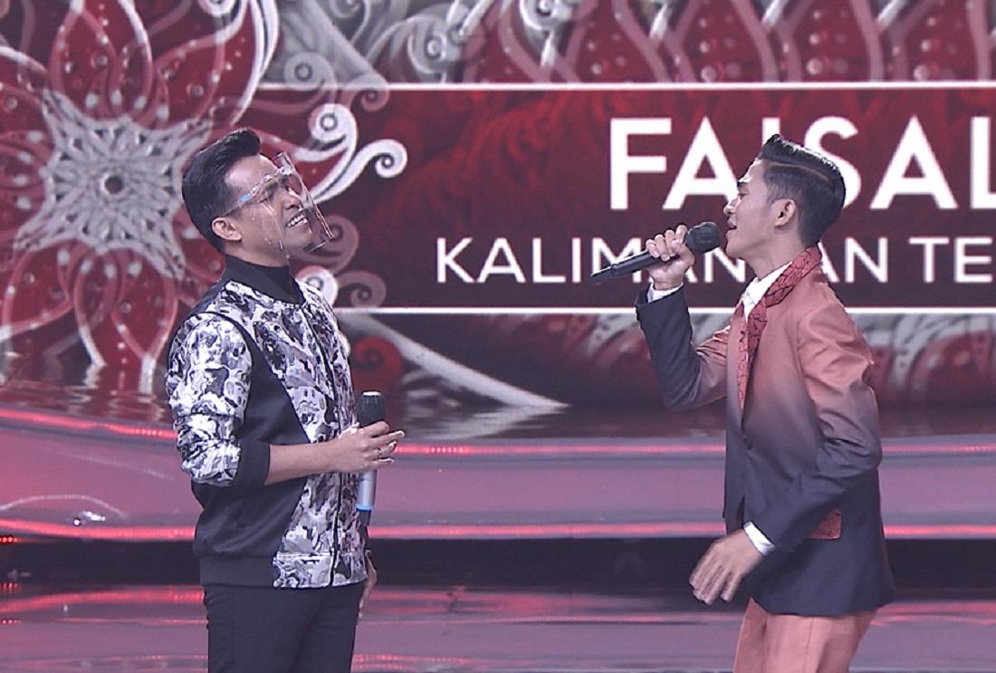 Faisal (Kalimantan Tengah) Bersama Fildan DA