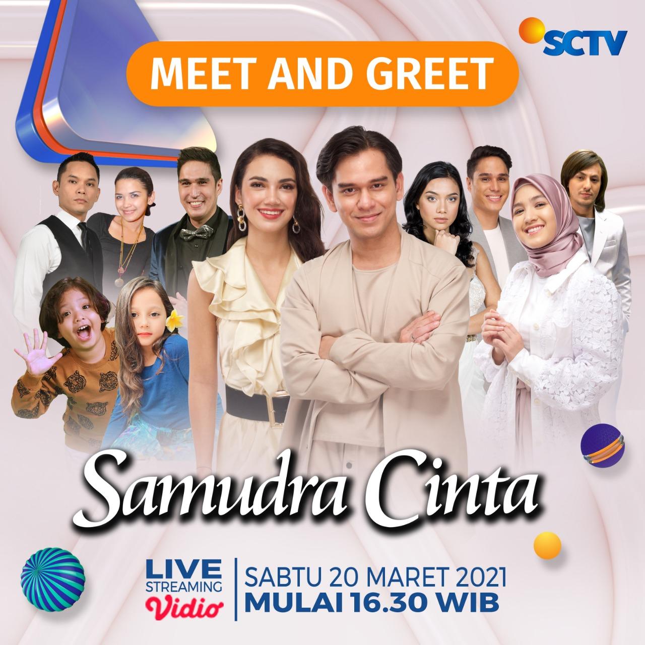 e-flyer Meet and Greet 'Samudra Cinta' (20 Maret 2021)