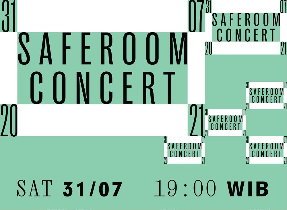 Safe Room Concert – Poster IG Feed